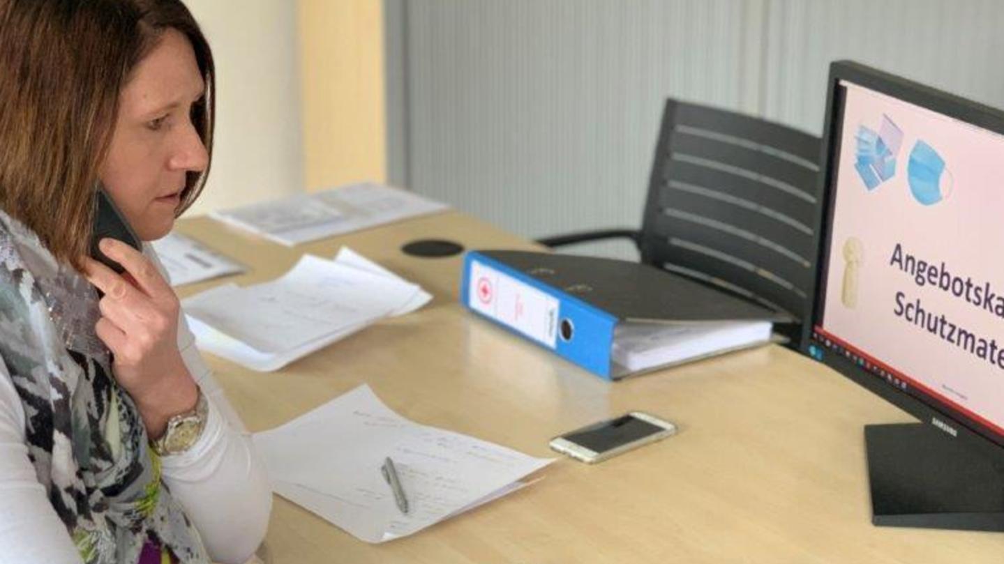 Die Pappenheimer Unternehmerin Nicole Modl hat dank ihrer guten Geschäftskontakte nach China eine große Anzahl Schutzmasken organisieren können.
