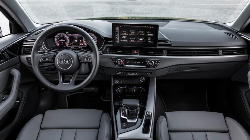 Premium-Ambiente: Cockpit mit topmodernem Infotainment.