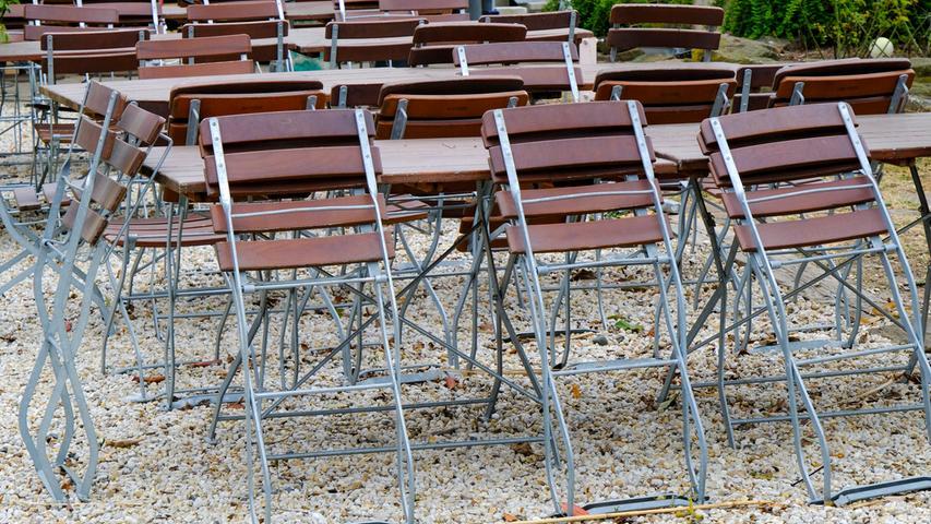 Herzogenaurach , 03.04.2020 Ressort: Lokales Foto: Günter Distler; , Der große Stillstand in der Stadt während an einigen Stellen noch gebaut wird;