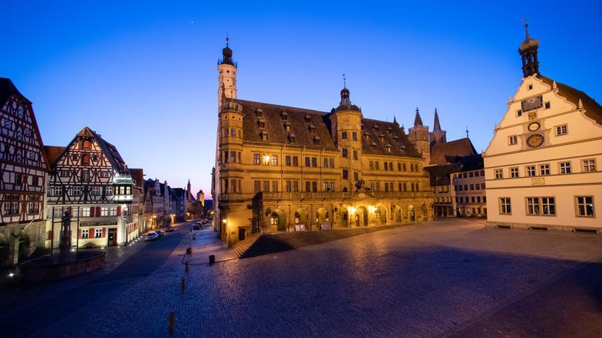 Geisterstätten in Bayern: Corona-Krise sorgt für leere Straßen