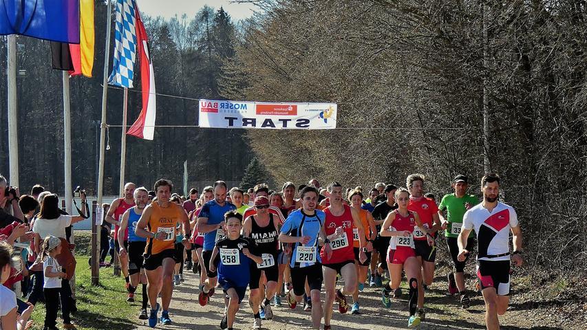 Die dritte Auflage der Laufveranstaltung des TV Parsberg am 21. März durfte nicht mehr ausgetragen werden.
