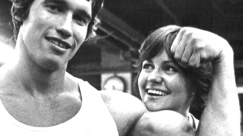 Zwischen 1970 und 1980 wurde Arnold Schwarzenegger zum weltweiten Aushängeschild für modernes Bodybuilding - das Bild zeigt ihn bei Dreharbeiten zum Film