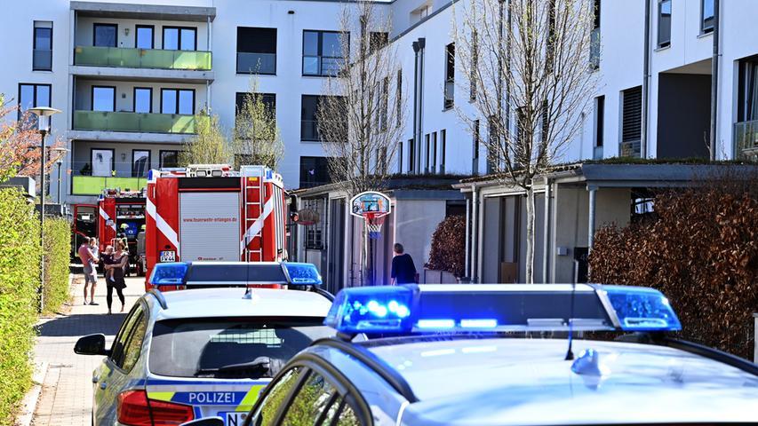 Fahrradakku explodiert und brennt Wohnzimmer in Erlangen nieder