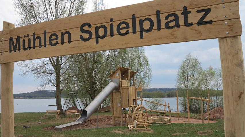 Trotz Oster-Traumwetter: Leere Wiesen im Fränkischen Seenland