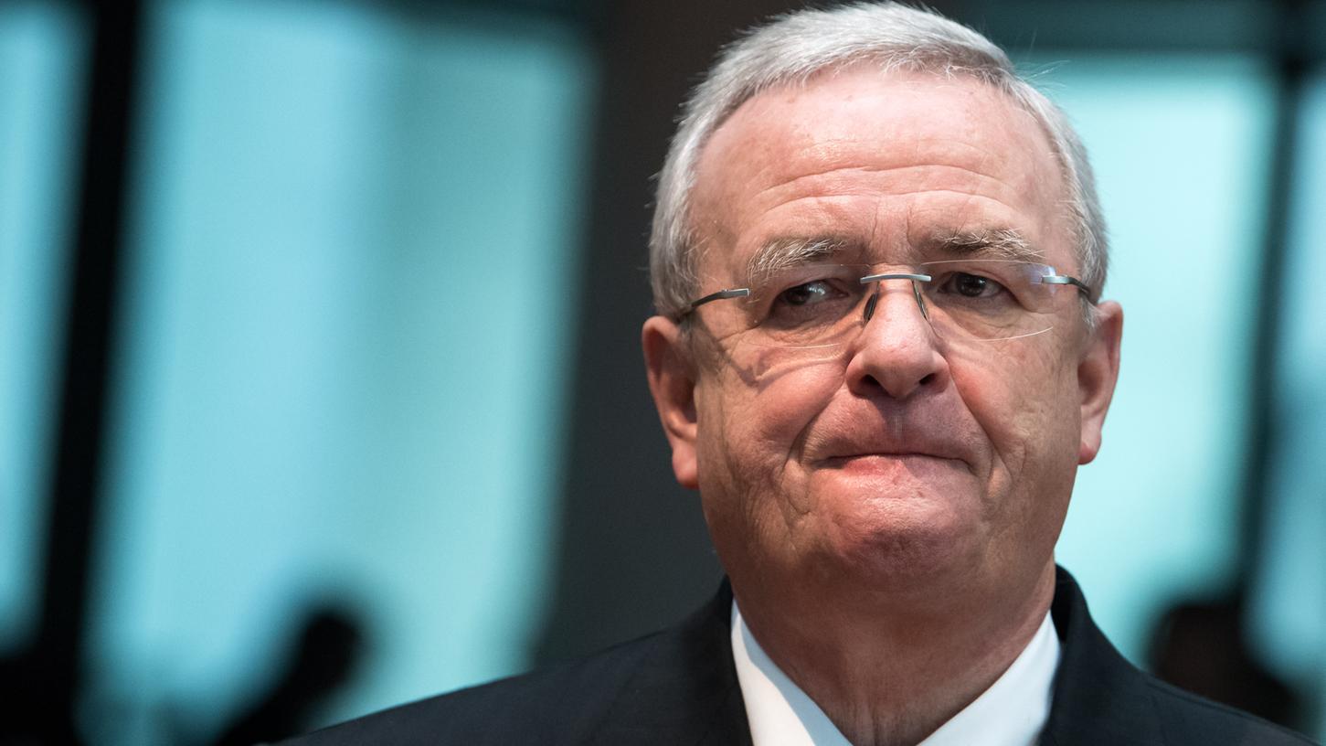 Martin Winterkorn, ehemaliger Vorstandsvorsitzender von Volkswagen, kommt als Zeuge zur Sitzung des Abgas-Untersuchungsausschusses des Deutschen Bundestages.
