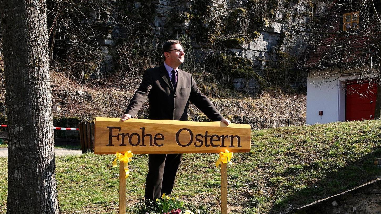 Alwin Gebhardt ist neuer Bürgermeister in Unterleinleiter. In seinen Job startete der Dürrbrunner Hobbybrauer unerwartet. Auch sein Vorgänger Gerhard Riediger war vom Ausgang der Wahl überrascht.