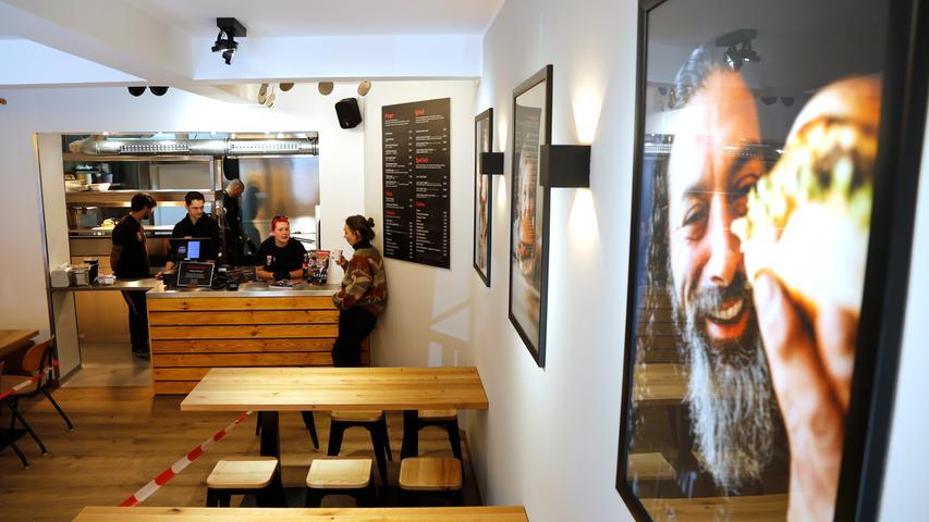 Nürnberg , am 15.04.2020..Ressort: Lokales Foto: Michael Matejka..in der Lorenzer Straße, Aufgetischt: Guerilla Gröstl eröffnet seinen ersten Laden..