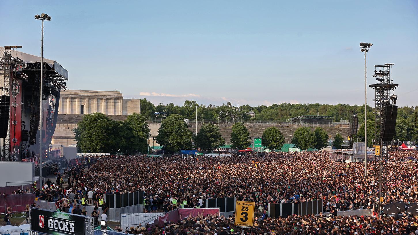 Großveranstaltungen, wie Rock im Park,schon in wenigen Monaten? Noch gibt es dafür kein einheitliches Konzept.