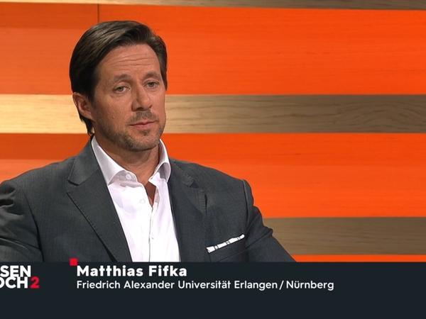 BWL-Professor Matthias Fifka