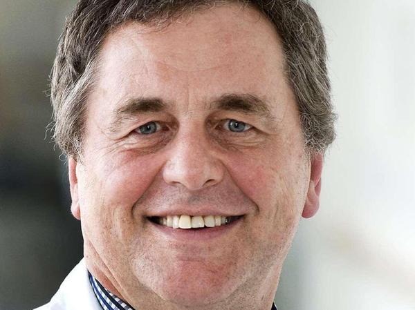 Prof. Frank Erbguth, Chefarzt der Neurologie am Klinikum.