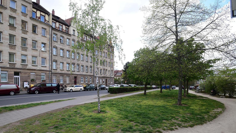 Die bisher wenig schmucke Anlage an der Herrnstraße soll zum Begegnungsort werden.