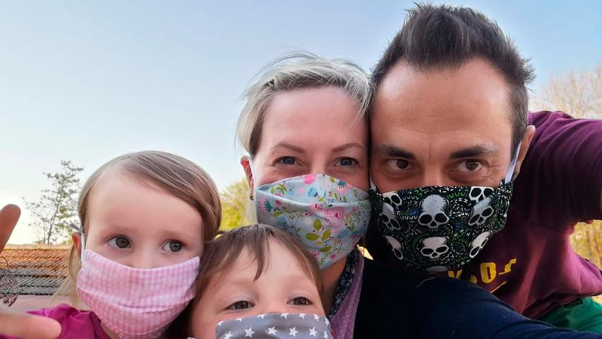 Eine Familie ist niemals Einheitsbrei. So auch nicht hier: Mama, Papa und jedes der Kinder trägt seinen ganz eigenen Stil.