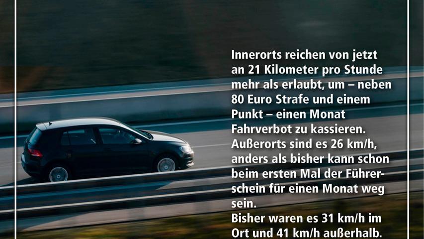 Neuer Bußgeldkatalog: Diese Strafen drohen Autofahrern