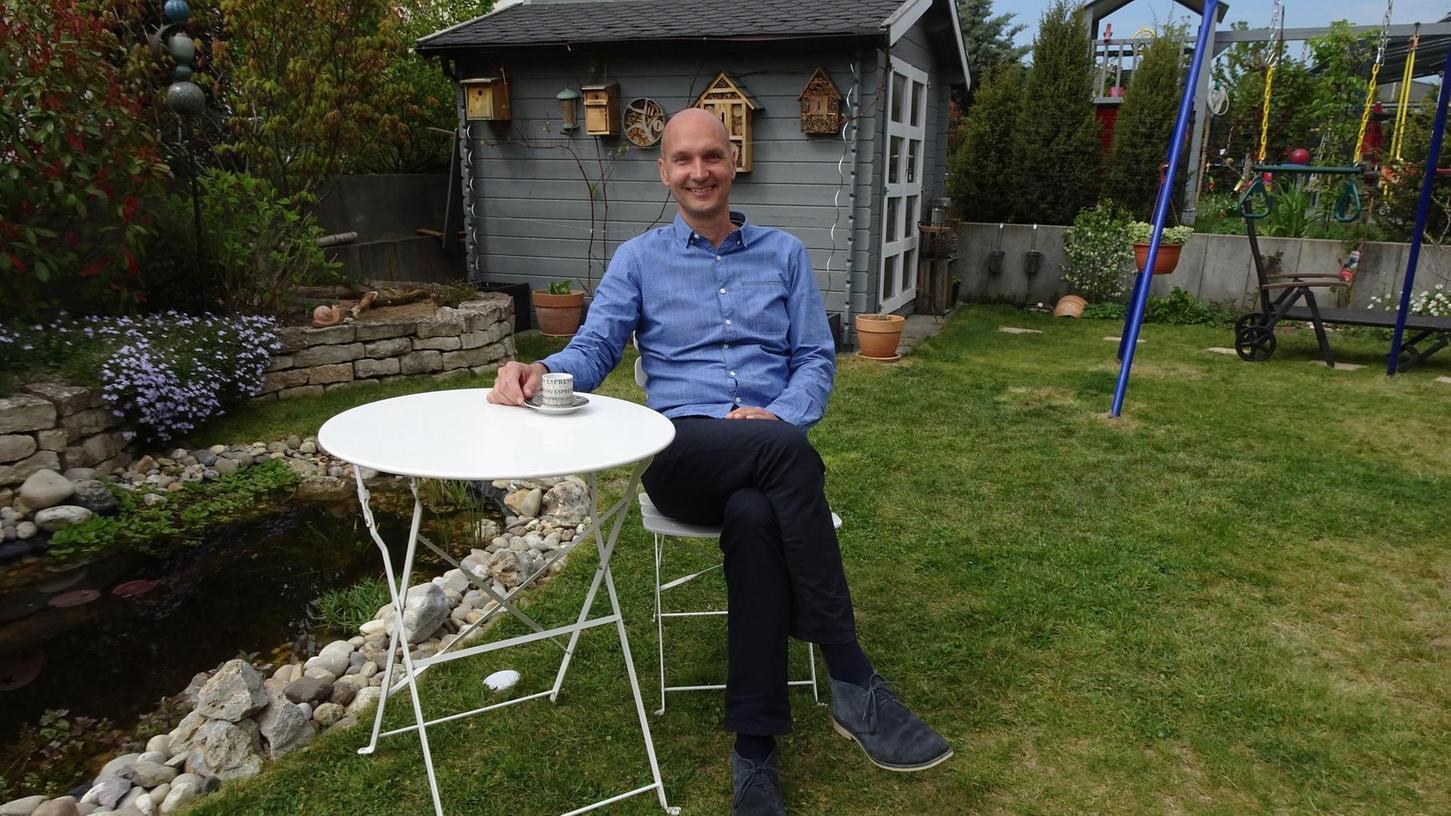 Die Ruhe vor dem Sturm? Nein, Jürgen Jäkel sieht der neuen Aufgabe mit Respekt, aber auch mit Zuversicht entgegen. Und der Garten ist ein guter Rückzugsort zum Nachdenken und Entspannen.