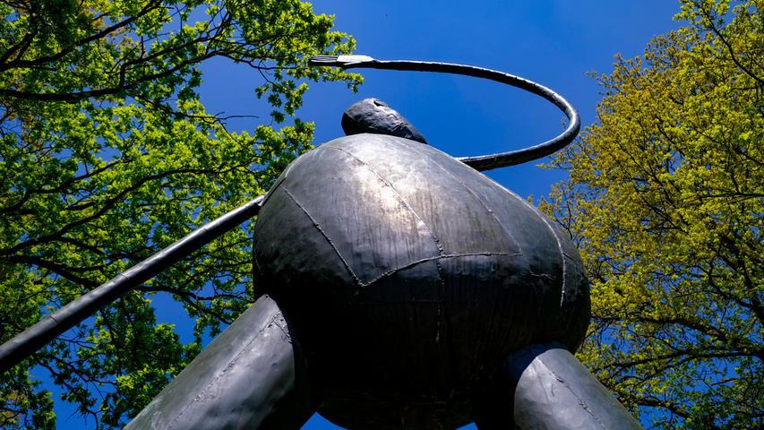 Idyllisch: Erlangens Skulpturengarten Heinrich Kirchner