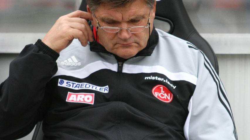 Der kauzige Thüringer rettete den Club souverän vor dem Abstieg, führte ihn im Jahr darauf auf Platz sechs und krönte sein Wirken mit dem Pokalsieg. Nicht zuletzt dank seines spöttischen Humors genießt Meyer in seiner Wahlheimat Nürnberg noch heute Kultstatus. Amtszeit beim Club: 2005-2008    Titel: Pokalsieg 2007
