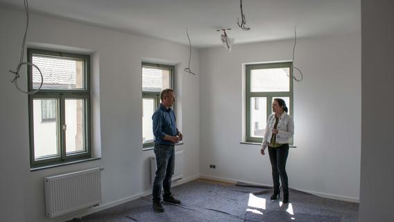 Das Glockenhaus in Spardorf ist fast fertig saniert