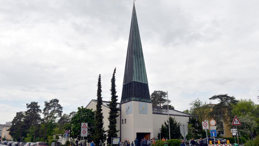Corona-Shutdown, Tag 54: Seit Anfang dieser Woche sind Gottesdienste wieder erlaubt, wie hier in der Johanniskirche in Alterlangen.