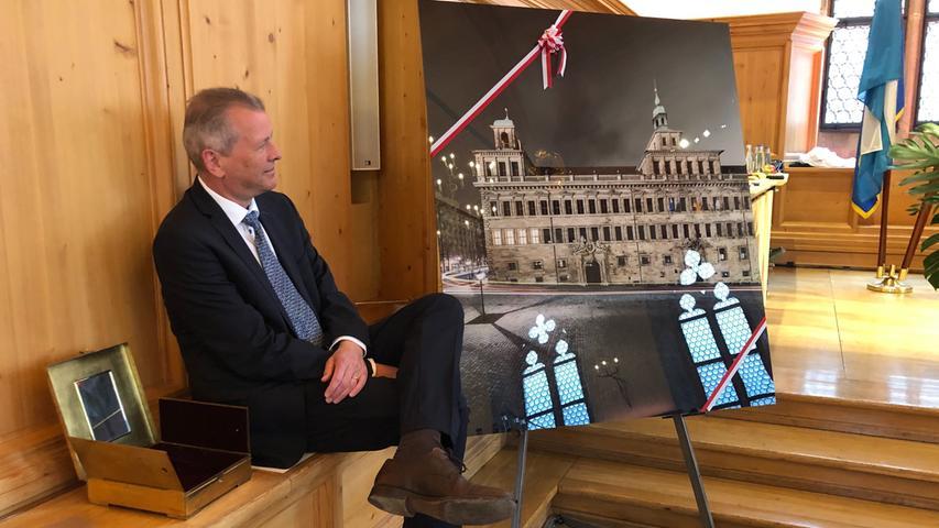 Vereidigung Nürnberger Oberbürgermeister König, Rathaus, Vereidigung, Bürgermeister, Oberbürgermeister, Nürnberg, Stadtrat, Maly, König
