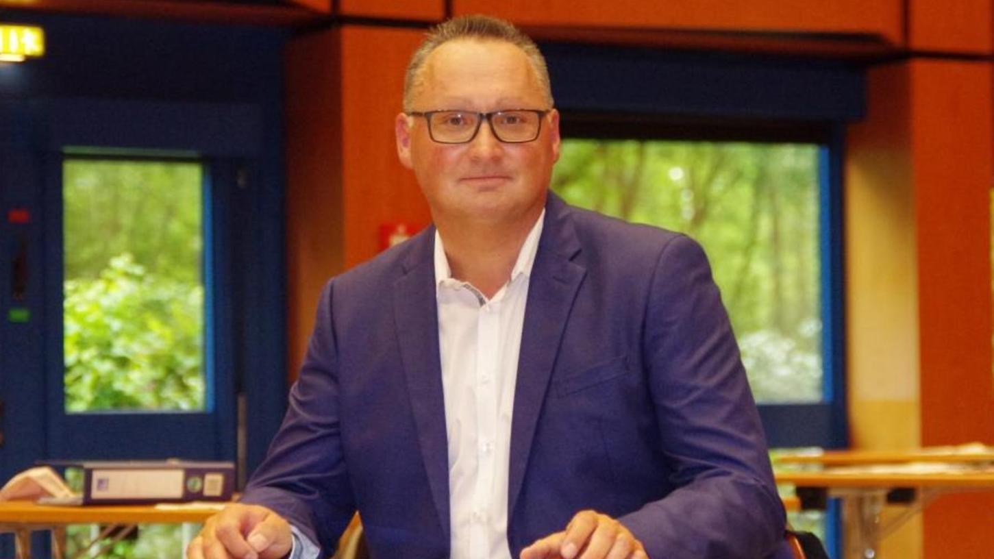 Bernd Klaski von der CSU ist neuer zweiter Bürgermeister in Zirndorf.