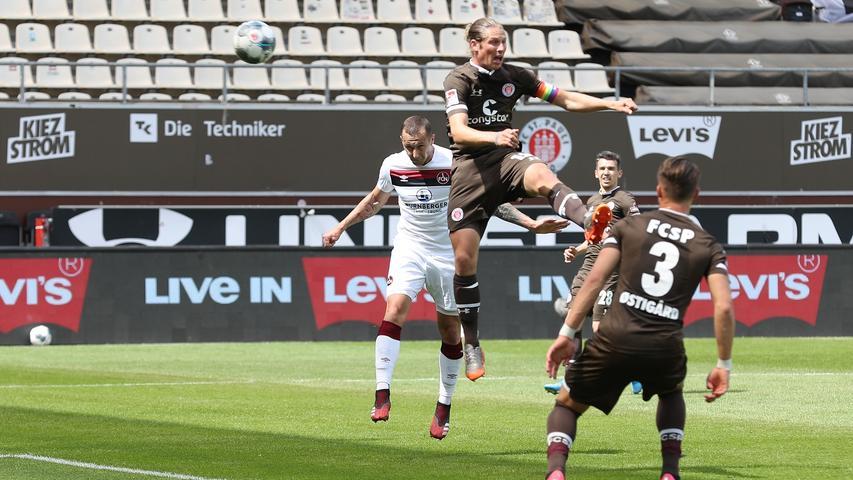 Nur einer macht Mut: Die Einzelkritiken zur FCN-Niederlage bei St. Pauli