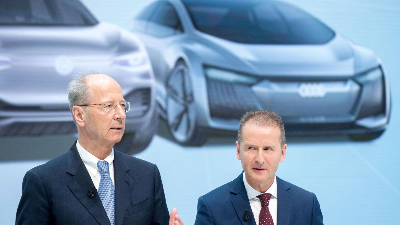 Das Strafverfahren wegen möglicher Marktmanipulation gegen VW-Konzernchef Herbert Diess und Aufsichtsratschef Hans Dieter Pötsch soll gegen eine Zahlung von neun Millionen Euro eingestellt werden
