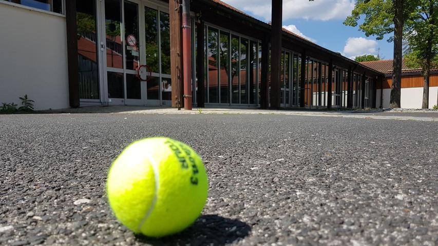 No sports: Die Sportmesse in der kleinen Jurahalle fällt ebenso flach.