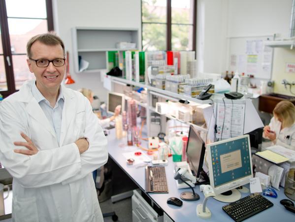 Der Erlanger Infektionsimmunologe Christian Bogdan
