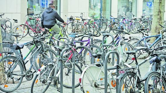 Erlangen plant 1000 neue Fahrradparkplätze