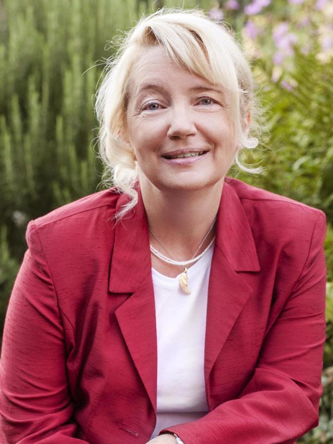 Die Veitsbronner hatten Sabine Schöberl viel zu sagen.