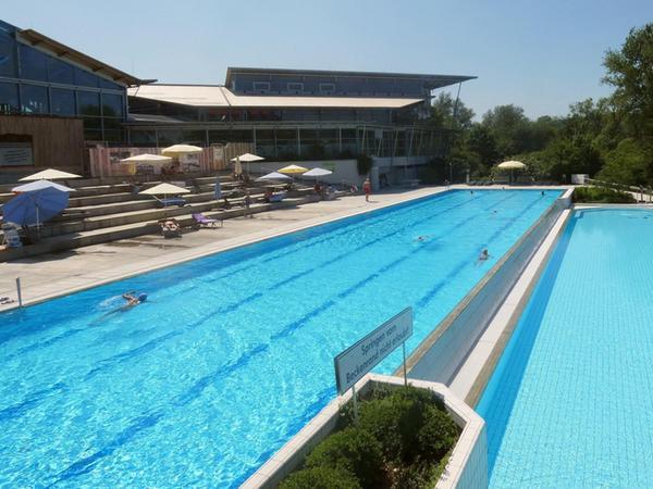 Soll am Montag, 8. Juni, wieder für Schwimmer geöffnet werden: das Freibad der Altmühltherme in Treuchtlingen. Ein weiterer Schritt in Richtung Normalität, findet Geschäftsführer Ulrich Schumann.