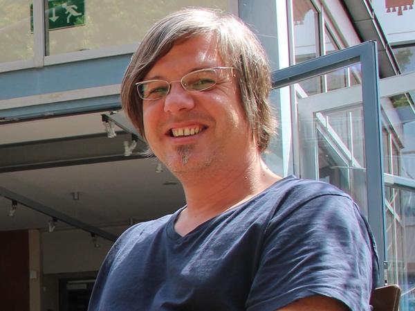 """Holger Watzka, Programmchef im """"E-Werk"""" Erlangen."""
