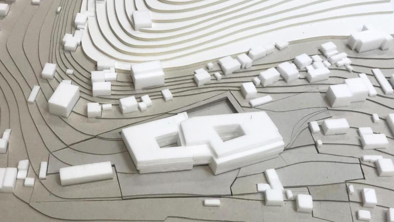 So soll einem Entwurf zu Folge die neue psychosomatische Fachklinik in Treuchtlingen aussehen, die auf dem Gelände des ehemaligen Stadtkrankenhauses entsteht. Die Fassade soll auf Holz- und Glaselementen bestehen.