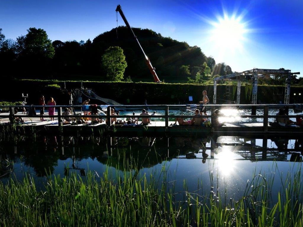 Naturbad Königstein im Sommer, Badstraße 3, 92281 Königstein
