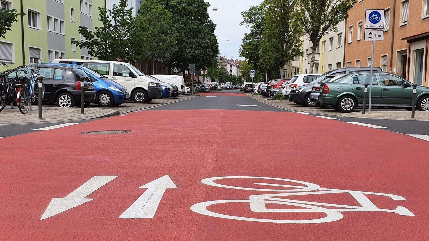 Die Wilhelm-Spaeth-Straße wird Teil eines Netzes von Radvorrangrouten.