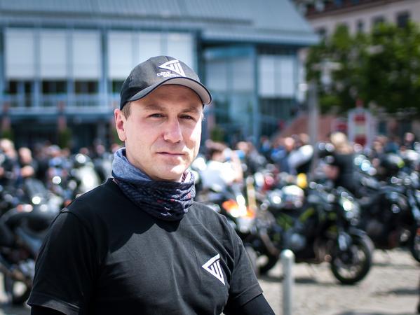 Alexander Wilhelm hat eine der Demonstrationen organisiert.