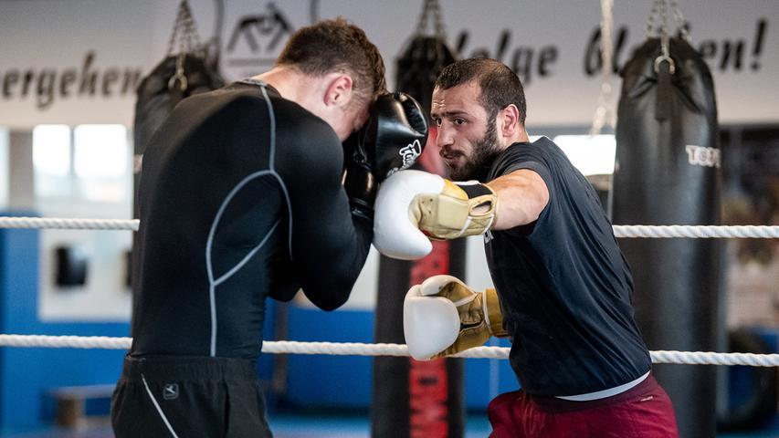Kampf des Lebens: Forchheimer boxt um Europameistertitel im Mittelgewicht