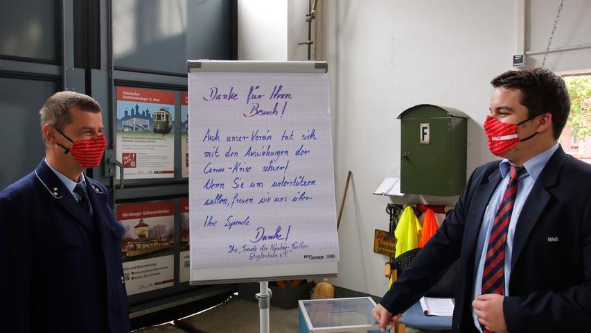 Nürnberg , am 06.06.2020..Ressort: Lokales Foto: Michael Matejka..Schloßstraße, Straßenbahndepot St. Peter..Warum ist das Straßenbahndepot St. Peter so beliebt? Ein Besuch zum Neustart nach der Corona-Pause.