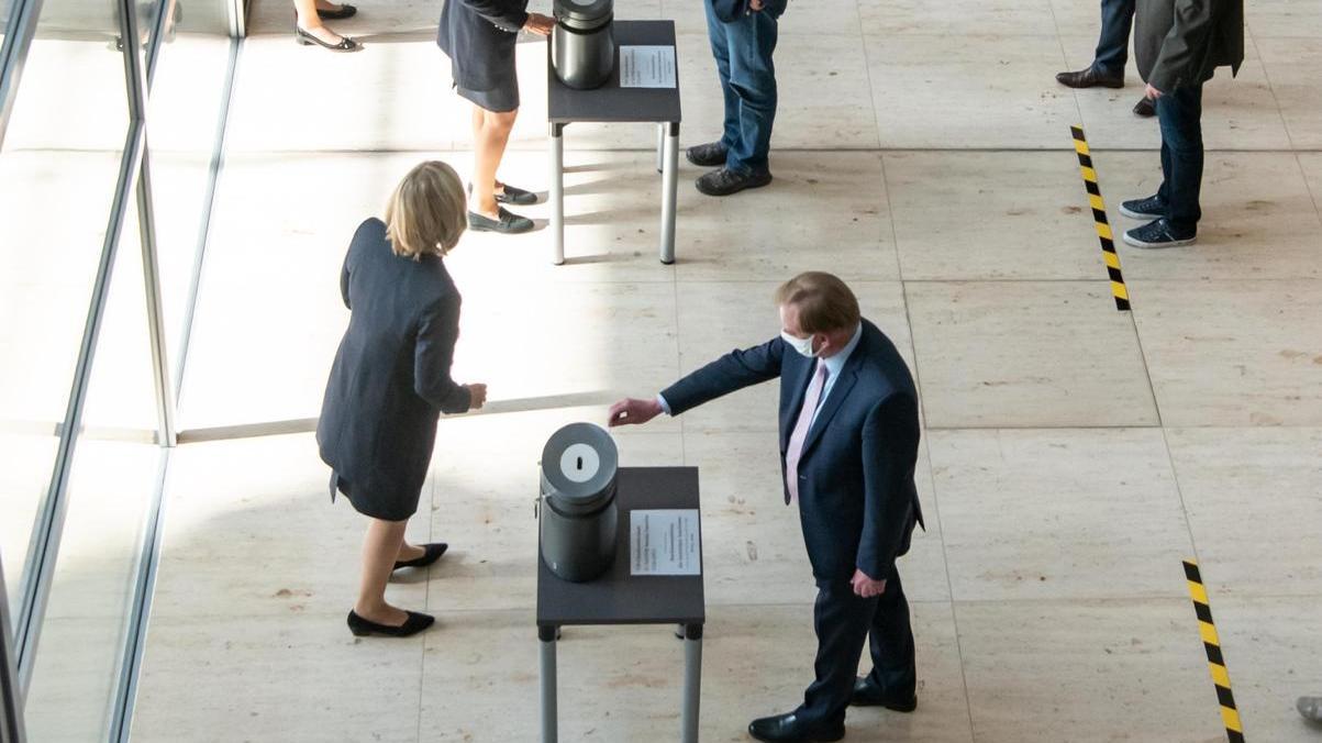 Der Bundestag gat einen Neuzuschnitt von sechs Wahlkreisen für die Bundestagswahl 2021 beschlossen.