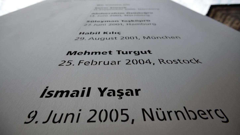 Nürnberg gedenkt einmal mehr den NSU-Opfern.