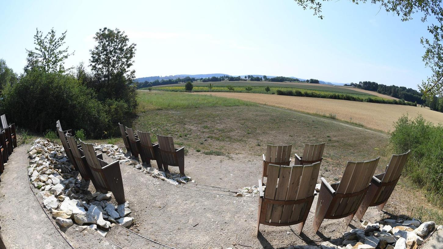 Natur genießen: Das Landschaftskino bei Hilzhofen. F.: Fellner