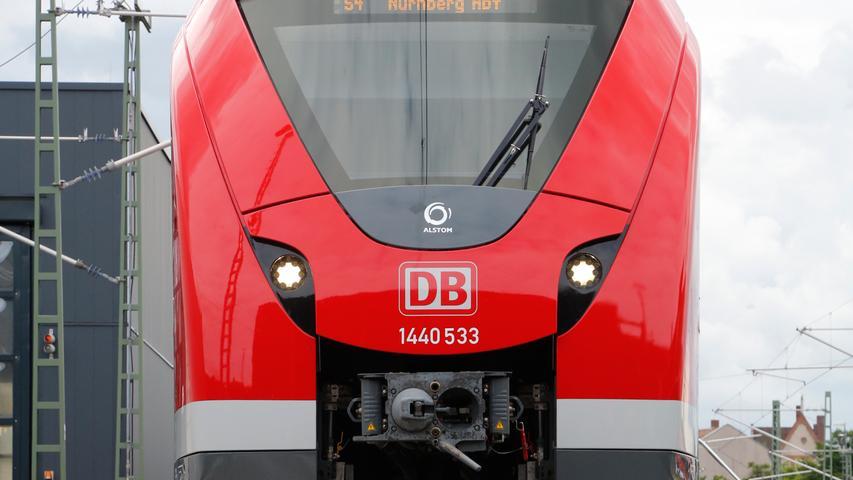 Blick ins Innere: So sehen die neuen Nürnberger S-Bahnen aus