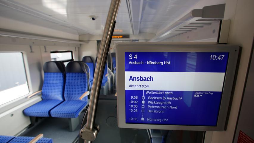 Ein erster Blick ins Innere: Das sind die neuen Züge für die Nürnberger S-Bahn