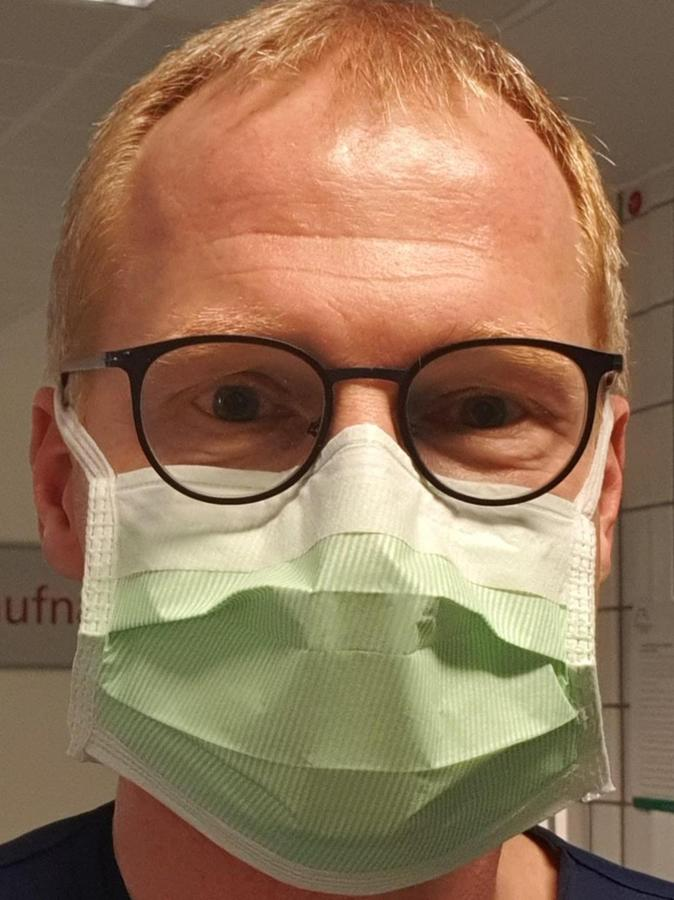 """""""Ich hatte großen Respekt"""": Dr. Manfred Wagner."""
