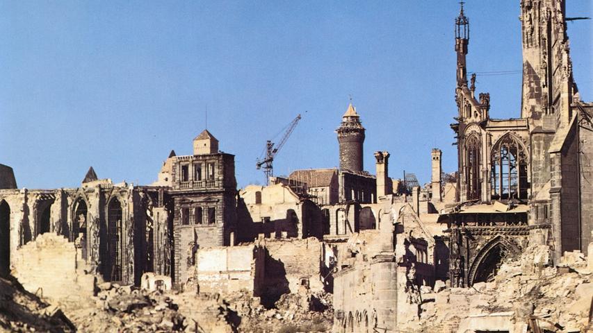 Nürnberg nach dem Krieg: Die Bilder von Raymond D'Addario