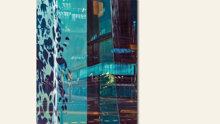 geb. 1964 in Nürnberg lebt in Berlin Polyphrenie (2017) 220 x 150 cm Öl auf Leinwand