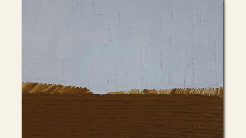 geb. 1973 in Landau lebt in Treuchtlingen Großes Feld (2020) 90 x 120 cm Öl auf Leinwand