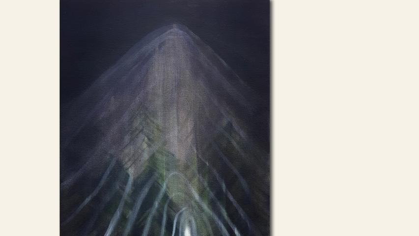 geb. 1981 in Masan, Südkorea lebt in Nürnberg Ohne Titel (2019) 40 x 30 cm Öl auf Leinwand  Ebenfalls gezeigt Ohne Titel (2019) 50 x 40 cm Öl auf Leinwand
