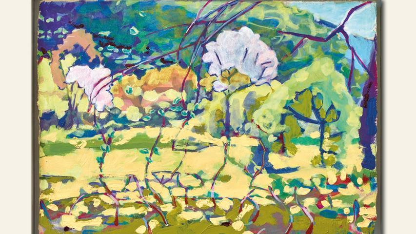 geb. 1982 in Kelheim lebt in Duggendorf Da bist du ja (2019) 40 x 54 cm Öl auf Papier erstmals im Wettbewerb vertreten