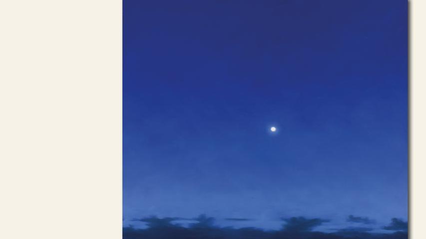 geb. 1957 in Würzburg lebt in Randersacker Mondlicht (2018) 80 x 80 cm Öl auf Leinwand